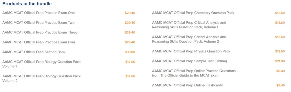 MCAT self prep course