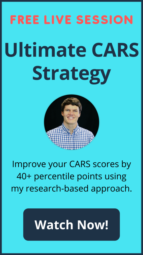 MCAT Self Prep CARS Course